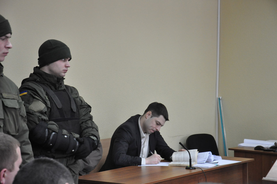 Прокурор Володимир Зорін.