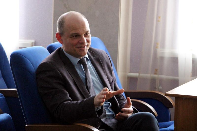 Заступник міського голови Віталій Нікіпелов