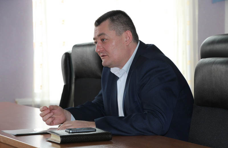 Начальник Полтавського відділу поліції ГУНП в Полтавській області Олександр Терела