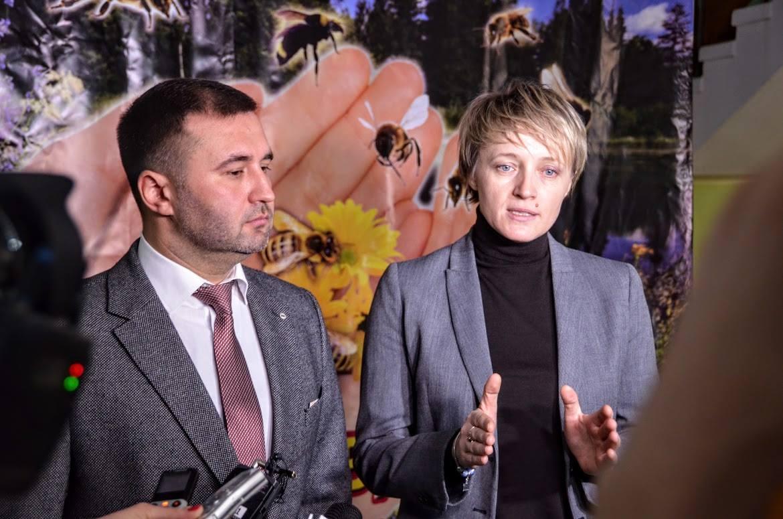 Роман Товстий і Ольга Трофімцева