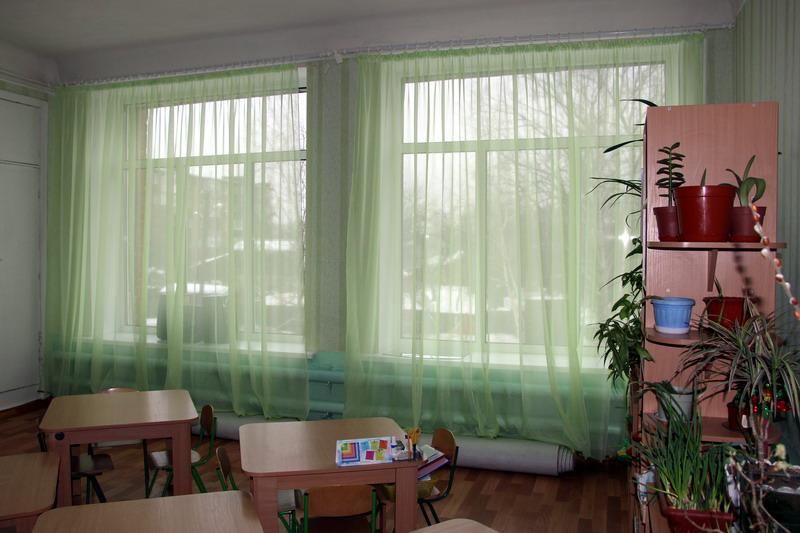 Нові вікна у садку