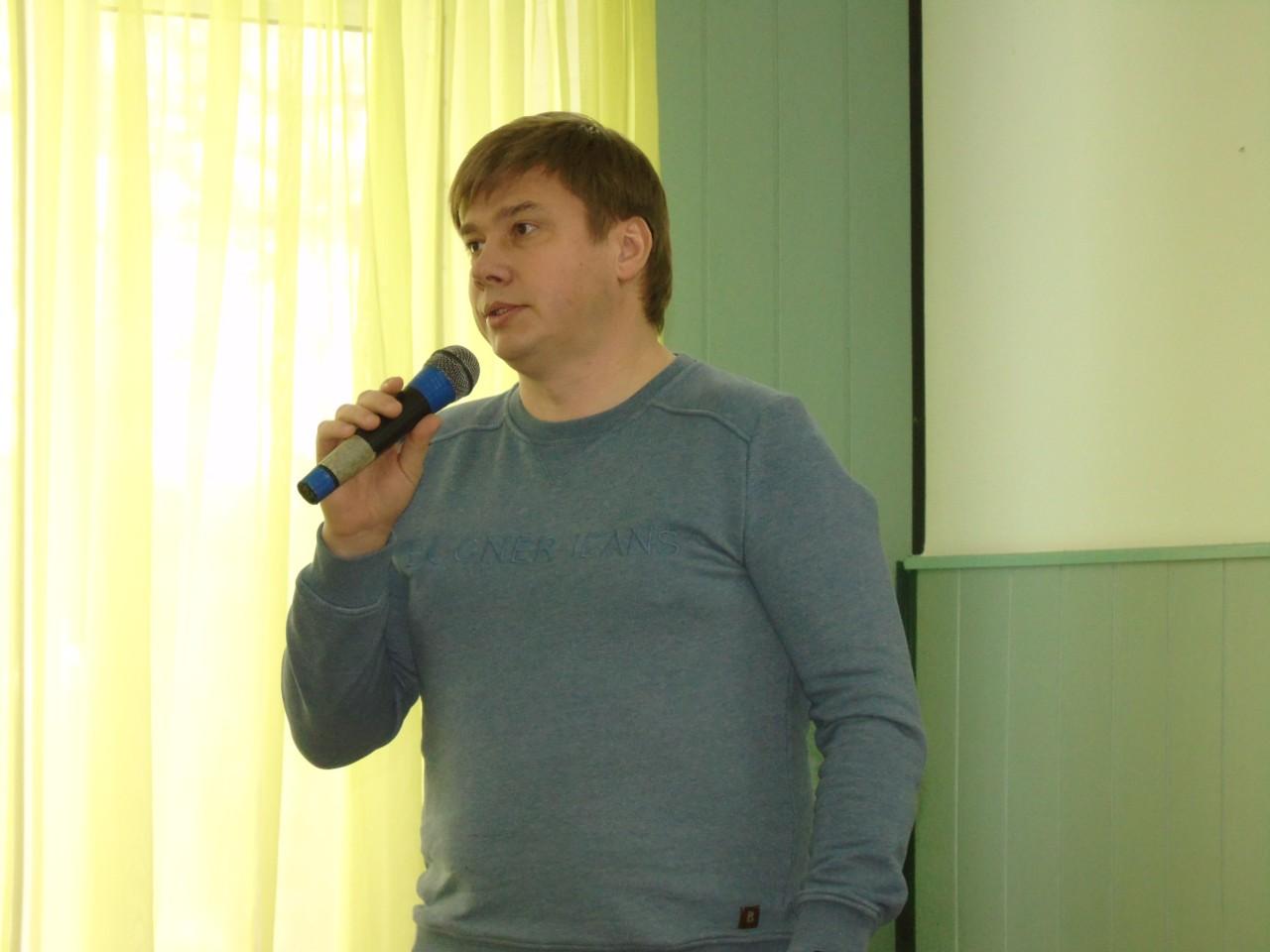 Голова обласної ради Олександр Біленький