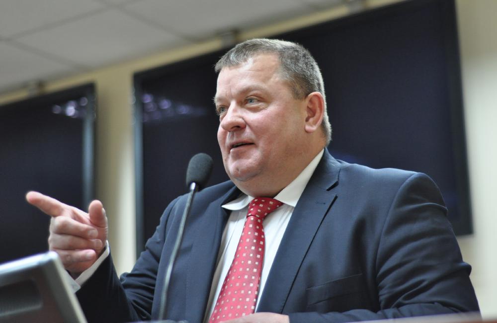 Олександр Цись, директор Полтавської філії ПриватБанку