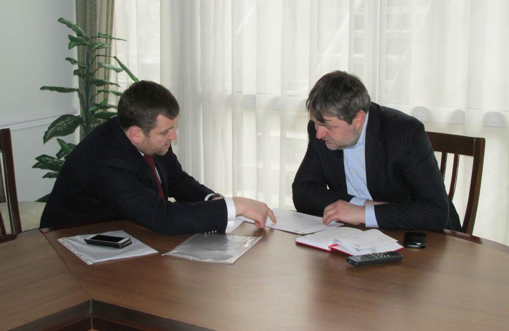Володимир Трояновський та Олександр Кава