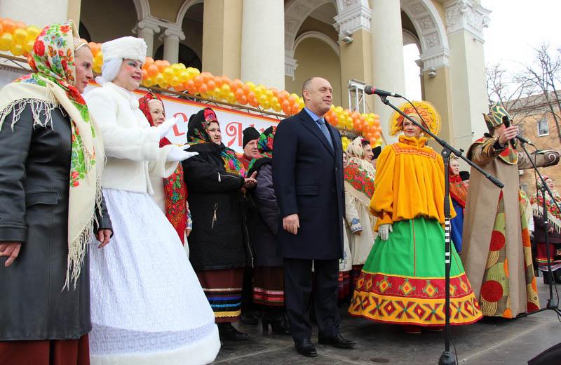 Олександр Мамай вітає полтавців з Масляною