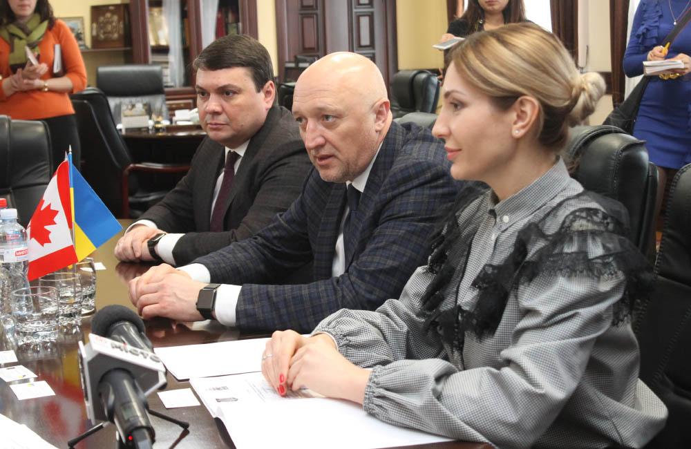 Керівництво області на зустрічі з послом