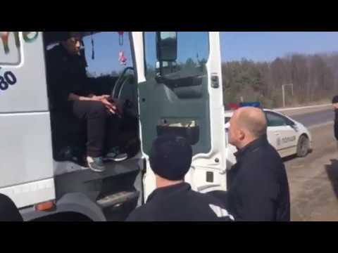 Впіймані водії сміттєвого каравану на Полтавщині зізнались, де завантажились
