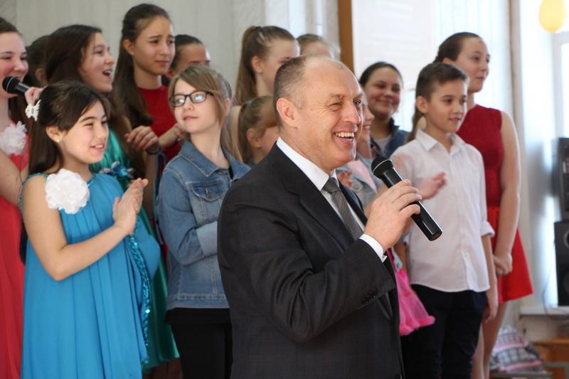 Олександр Мамай після звітного концерту