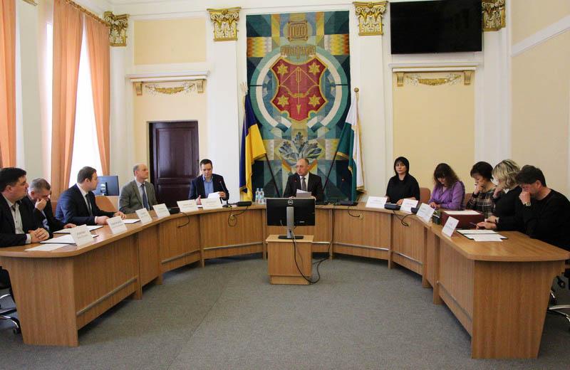 Олександр Мамай починає засідання