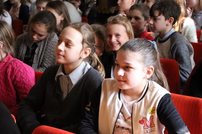 Школярі на зустрічі з міським головою