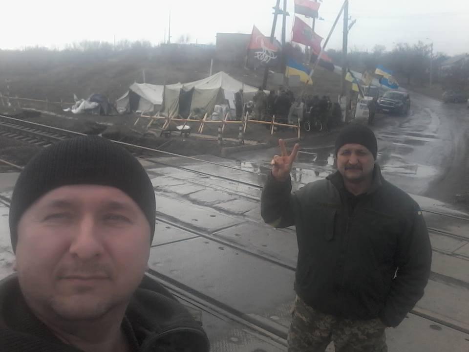 Олег Перепелиця та Петро Ворона