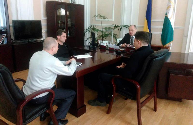 Зустріч учасників АТО з міським головою