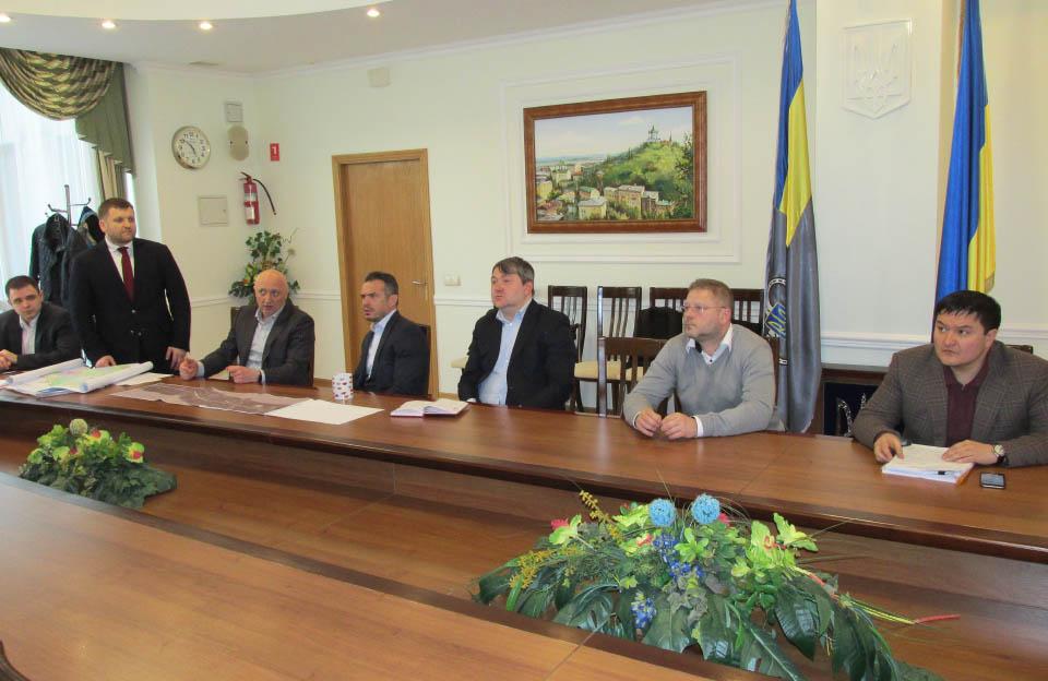 Зустріч в Укравтодорі
