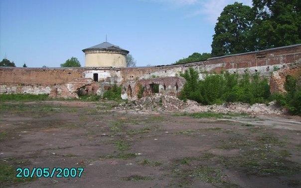 Круглая площадь до реконструкции