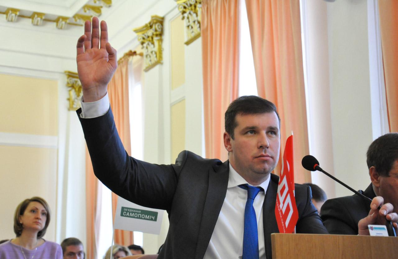 Депутат Полтавської міської ради Олександр Шамота