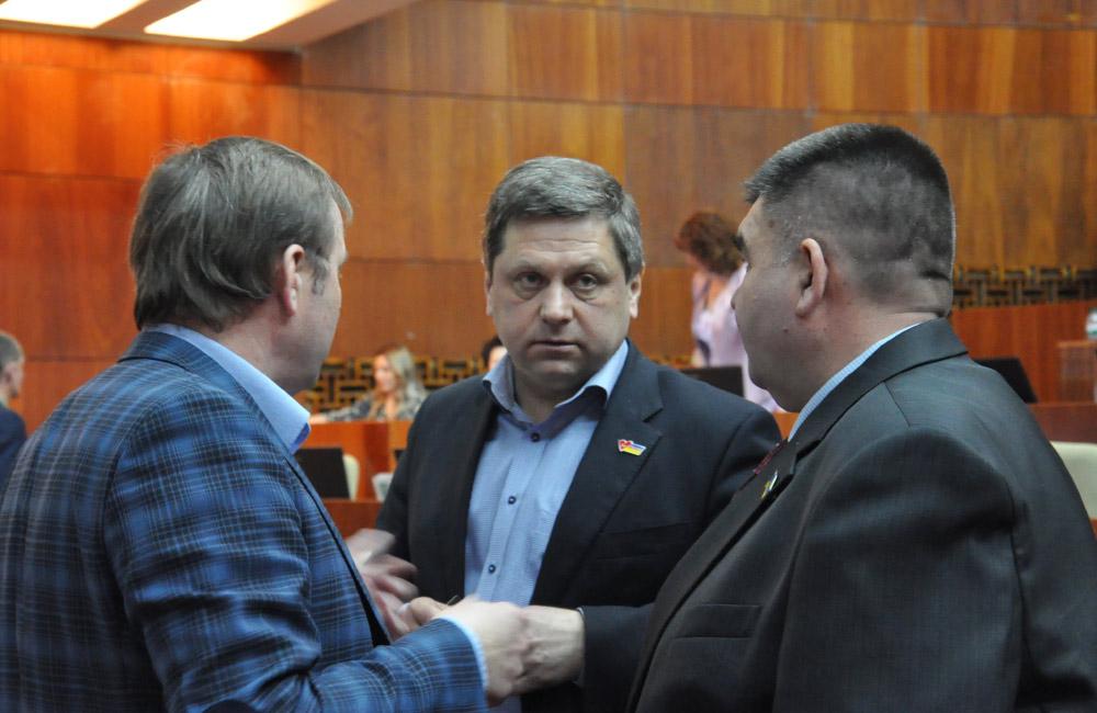 Сергій Соловей, Ігор Горжій та Руслан Рогов