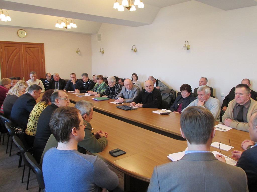 Засідання Громадської ради при Полтавській ОДА