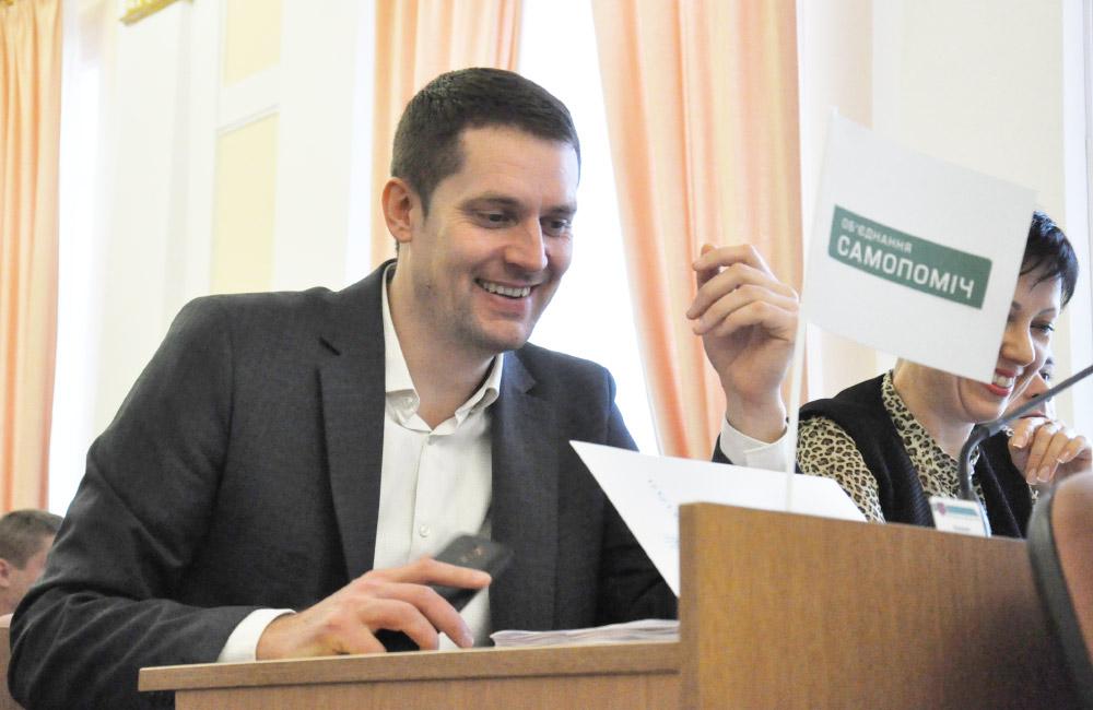Депутат Полтавської міської ради Ігор Окіпнюк