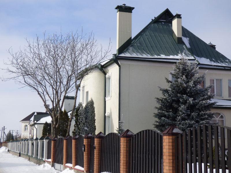 Нерухомість Удовіченків на вулиці Центральній у Розсошенцях