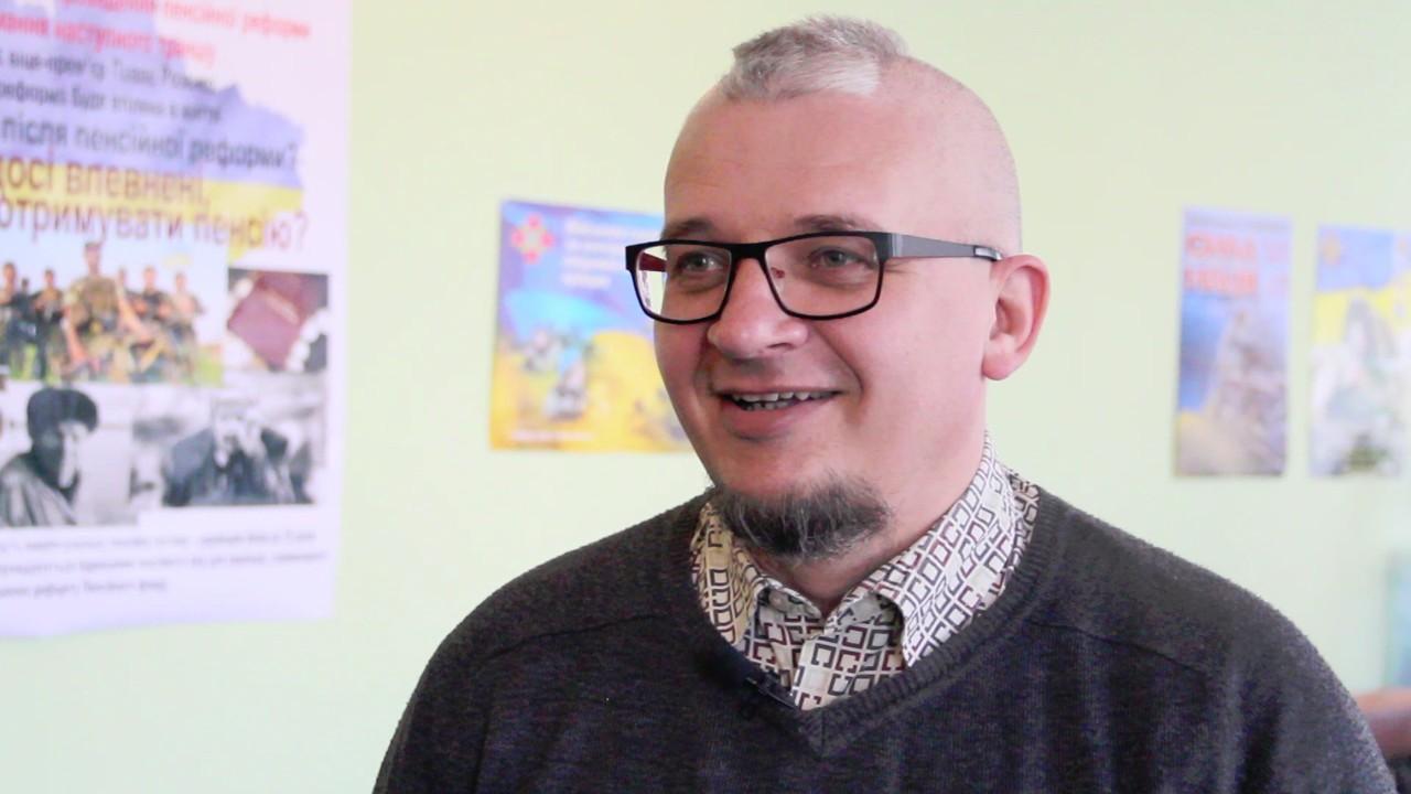 Валерій Довженко, керівник Центру допомоги учасникам АТО