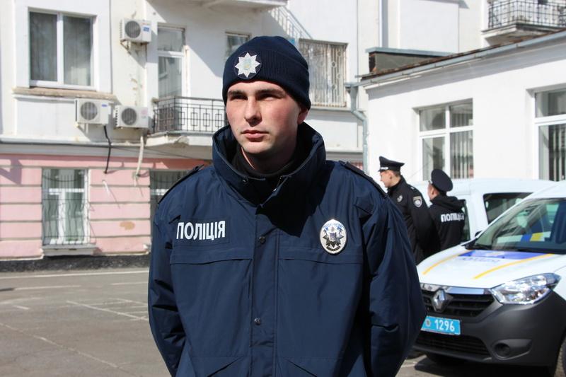 Старший сержант поліції Дмитро Койнаш