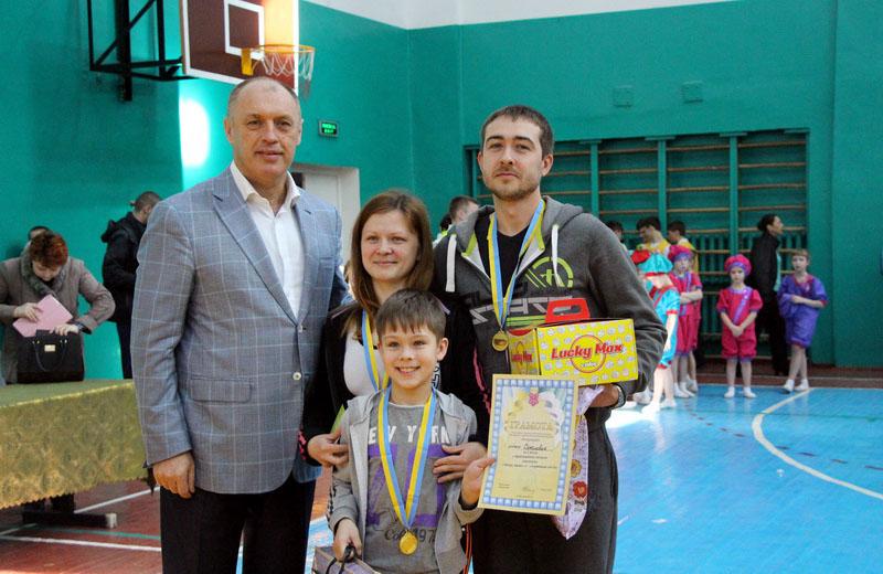 Переможці змагань — родина Соколових