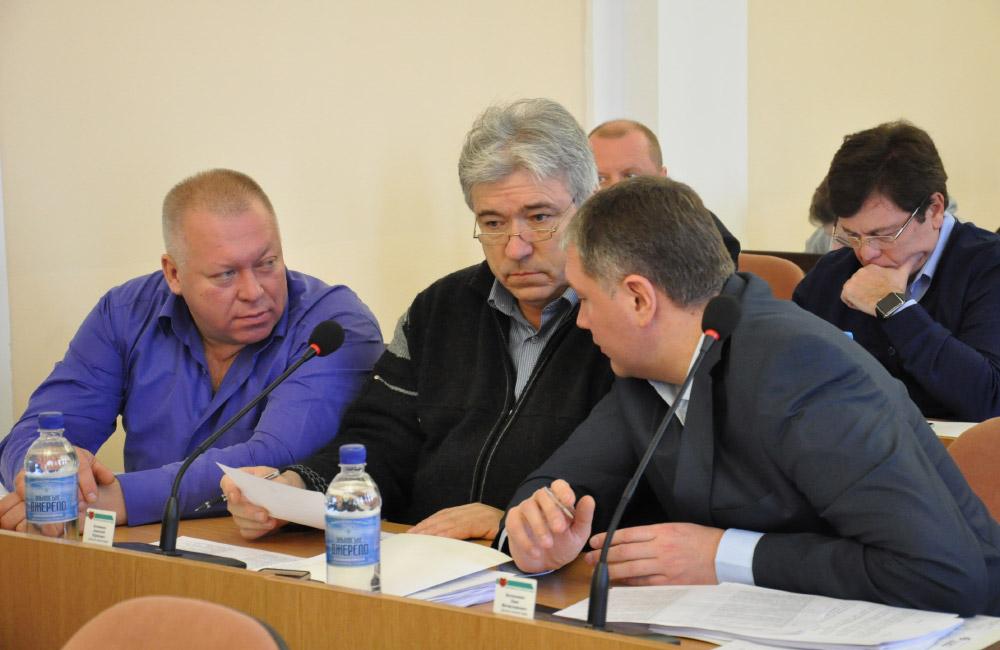Депутати фракції ВО «Батьківщина» у Полтавській міськраді