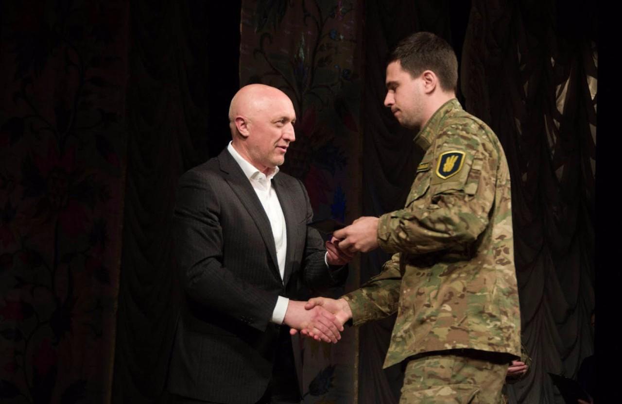 Валерій Головко вручив нагороди полтавським добровольцям