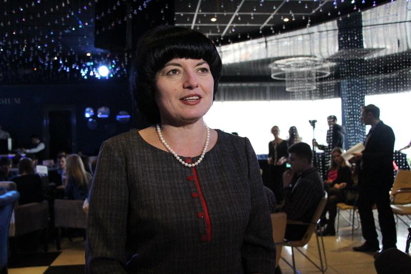 Олена Ромас, начальник управління у справах сім'ї, молоді та спорту