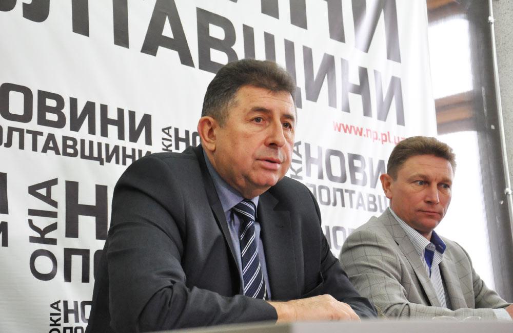 Олександр Удовіченко та Валерій Пархоменко