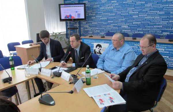 Презентація результів комплексних досліджень по розрахунку індексів демократичного розвитку