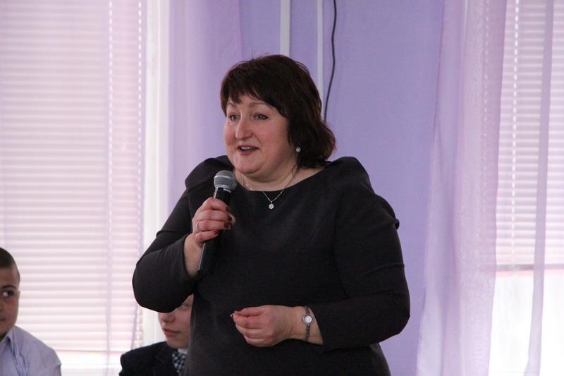 Директор школи № 9 Вікторія Годня