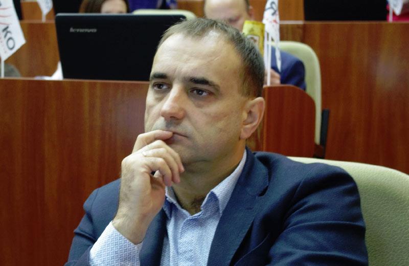 Валерій Прядко, голова Полтавської обласної організації СДП