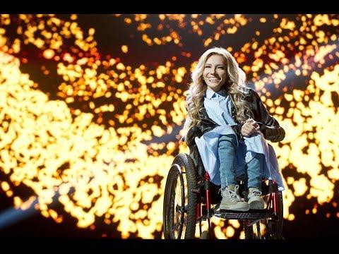 "HD 720 Юлия Самойлова песня ""Flame Is Burning"" Евровидение 2017 Россия"