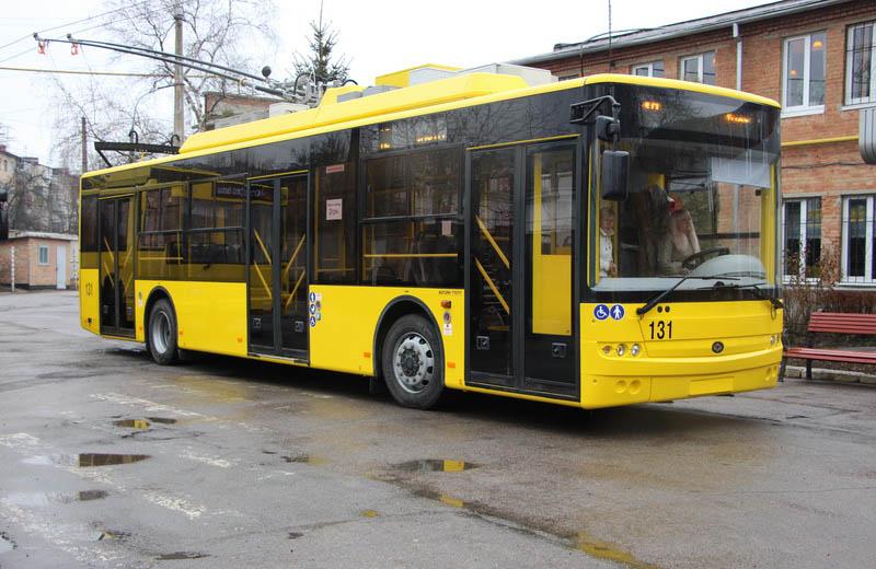 Тролейбус Богдан-Т70117