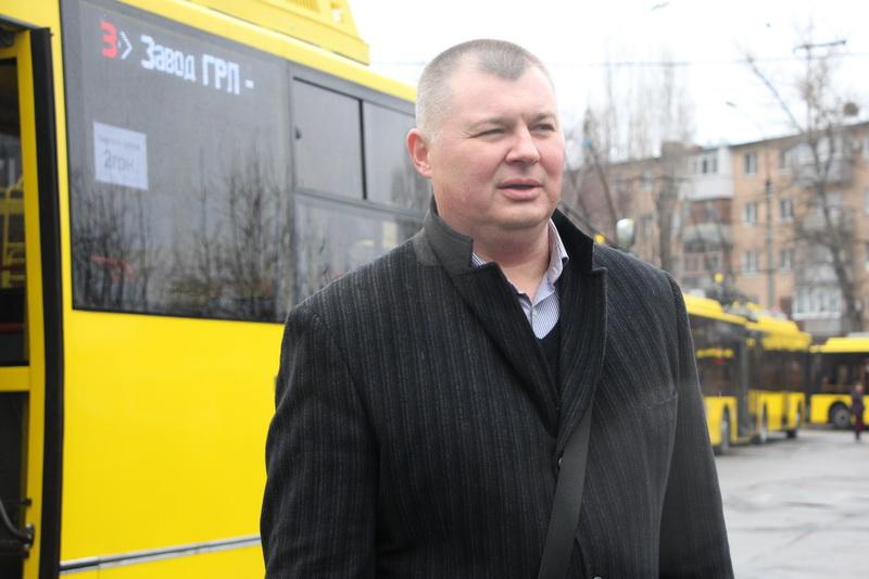 Депутат міської ради, директор Полтавського ремонтно-механічного заводу Вячеслав Федоряка