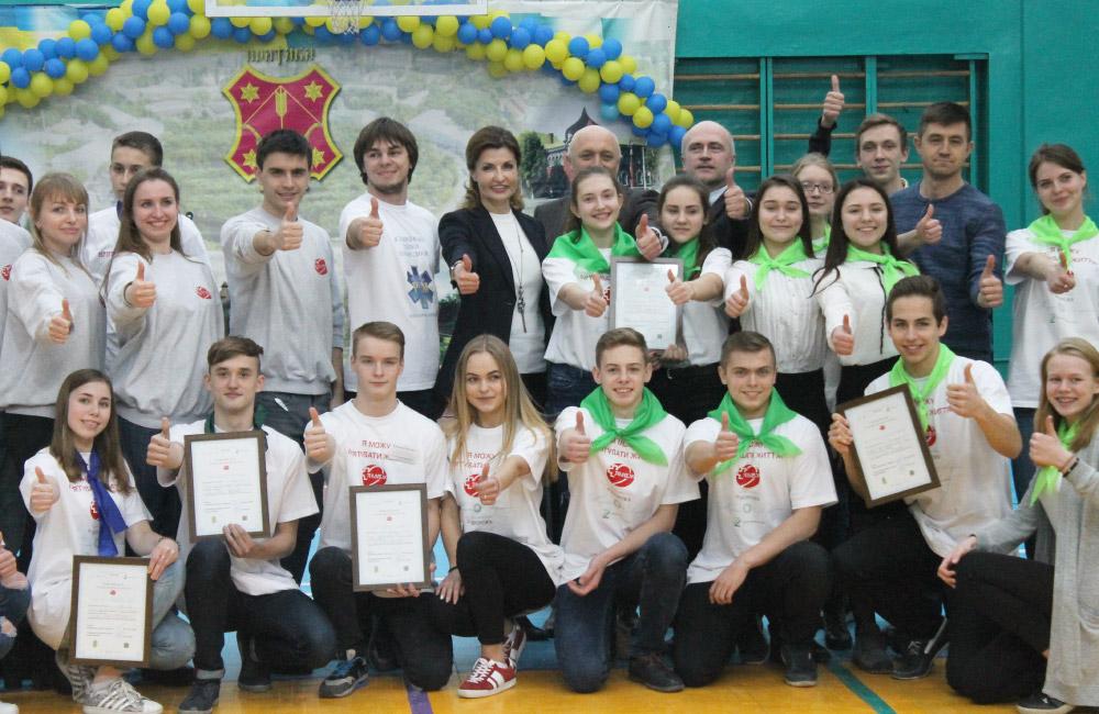 Змагання серед старшокласників по домедичній допомозі