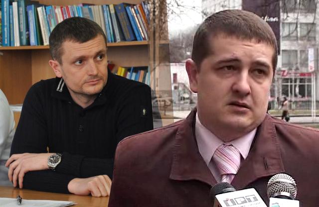 Олексій Чепурко та Андрій Лямін