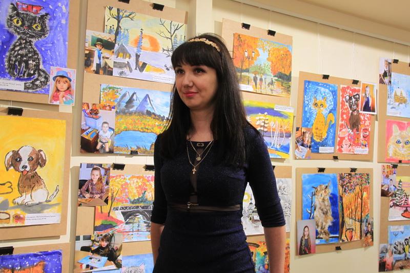 Мама вихованця художньої студії Марина Бабінчук