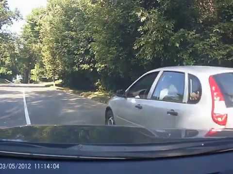 «Підрізання» автомобіля Тимофія Голбана (2016.08.18, Полтава)