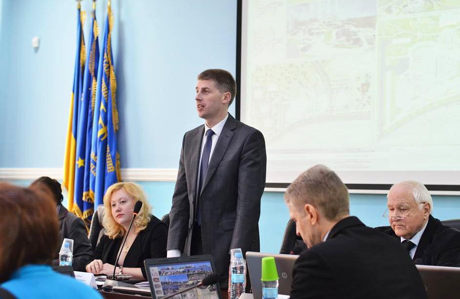 Перший проректор університету Олег Коробко
