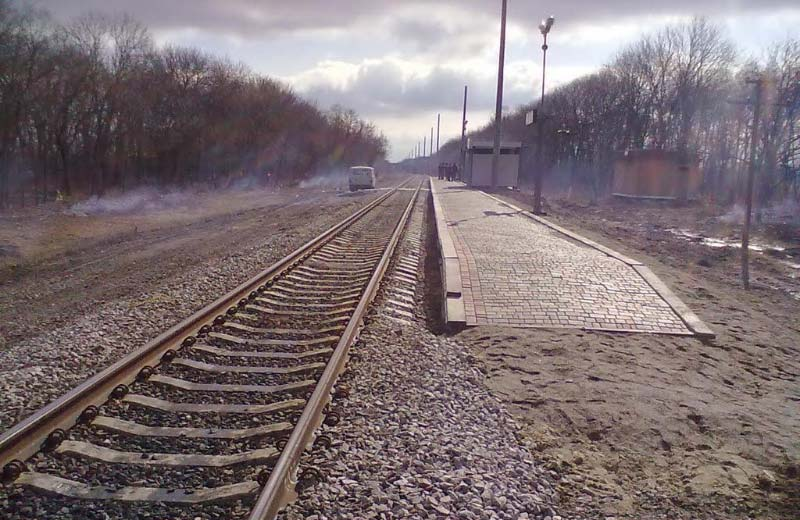 Залізнична станція «18 км» біля села Бузова Пасківка