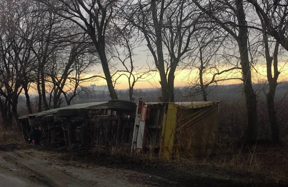 ДТП на автодорозі Полтава — Кременчук