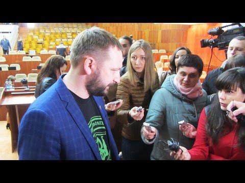 Анатолій Ханко про відсутність кворуму на пленарному засідання облради (2017.03.21)