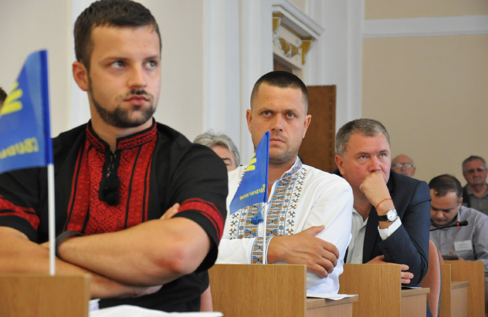 Сергій Литвиненко — представник ВО «Свобода», який пропустив засідання комісії