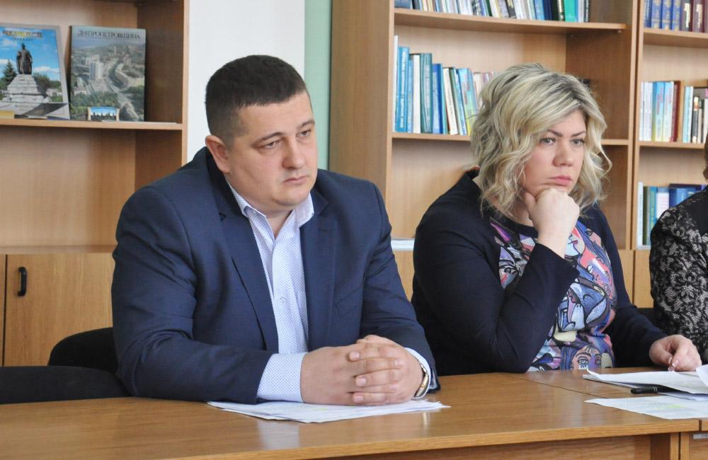 Андрій Лямін та Наталія Сук