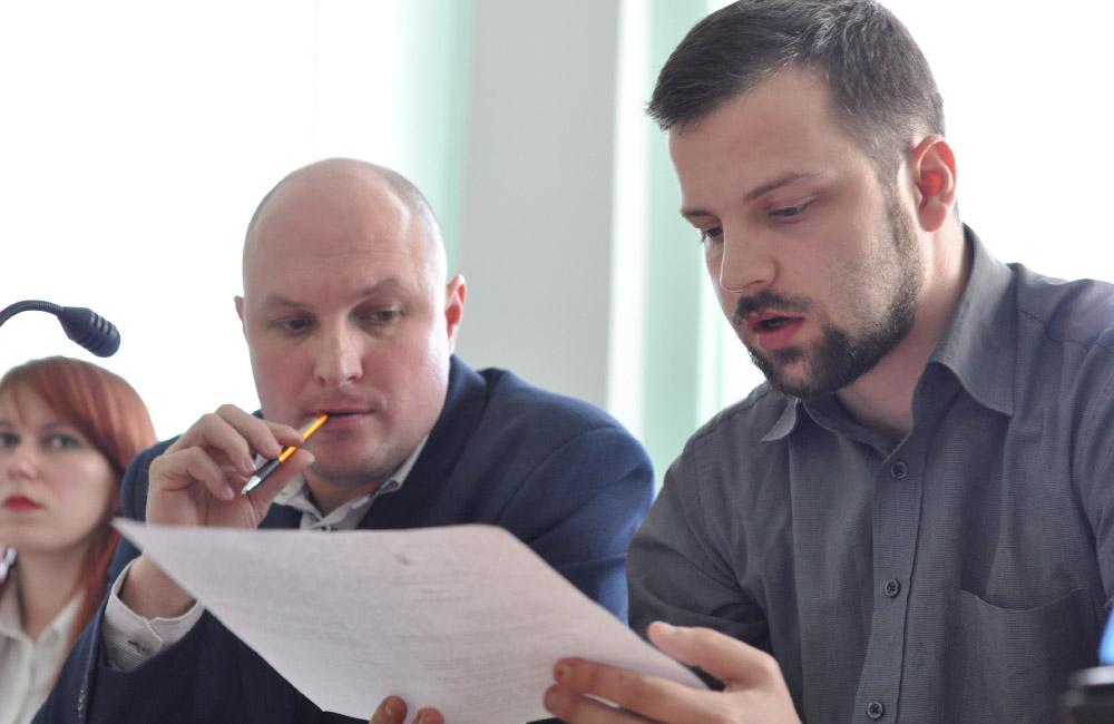 Анатолій Костенко та Юліан Матвійчук