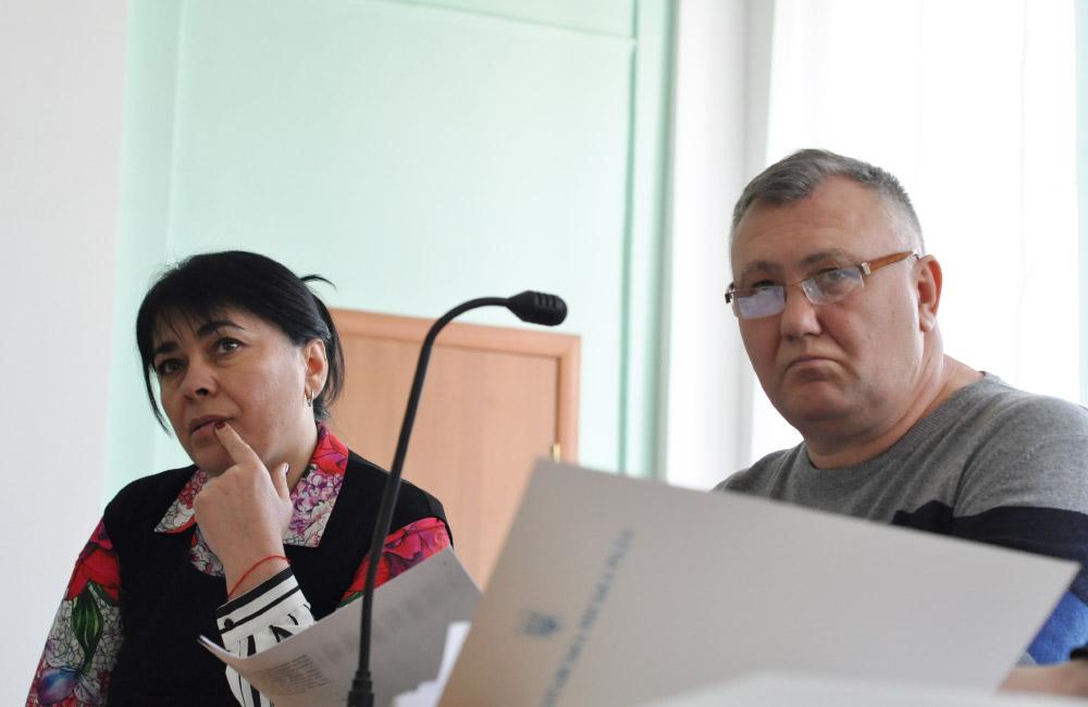 Оксана Деркач та Владислав Кива