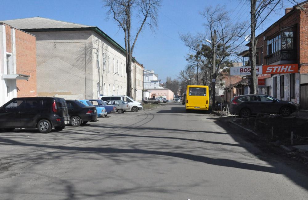 Вулиця Дмитра Коряка у Полтаві