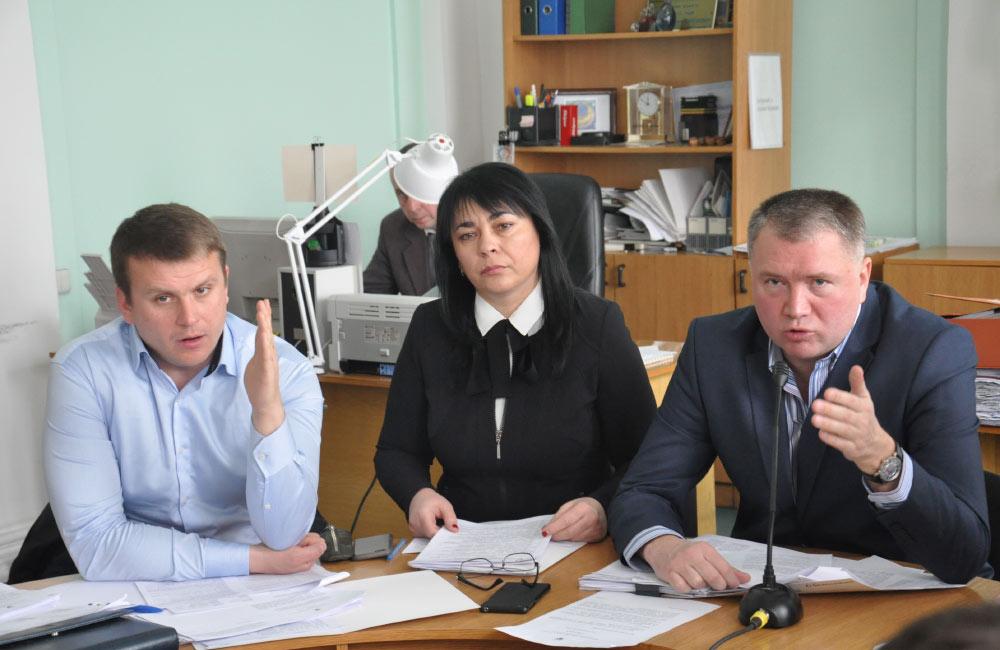 Денис Поліщук, Оксана Деркач та Олег Бєлоножко